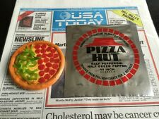Back to the Future 2 - Pizza Hut Pizza + Foil Bag Prop