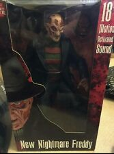 "NECA New Nightmare Freddy Krueger 18"" Figure motion activated"