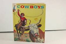 "Vintage Classic 1958 ""Cowboys"" Rand McNally Tip Top Elf Book *SameDayShip*"