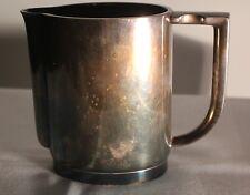 Kännchen Kanne Kaffee Krupp Berndorf Tee Milch Metall versilbert  #6298