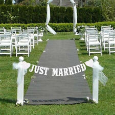 Wedding Just Married Banner Party Decor Bunting Sign Personalised Trending