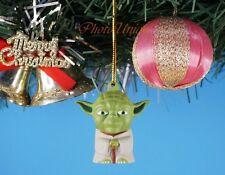 CHRISTBAUMSCHMUCK Weihnachten Xmas Haus Deko Star Wars Yoda Jedi Council Master