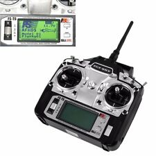 Flysky FS-T6 2.4GHz 6CH Transmitter Receiver For RC Multicopter Helicopter Plane