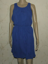Blue ATMOSPHERE Skater Clubwear Casual Party Summer Beach Dress Sz 16 / 44