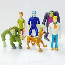 6pcs Scooby-Doo Series 1 Scooby And Frankenstein's Monster Action Figures HA338