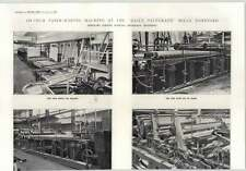 1915 134 Inch Papermaking Machine At The Daily Telegraph Mills Dartford 1