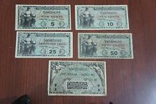 MPC Series 481 Lot Military Currency