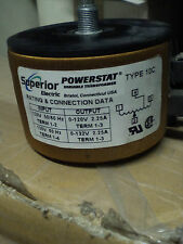 superior electric POWERSTAT 10C trasformatore variabile