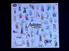 "DISNEY Store ANIMATORS Collection 5"" w/ DISPLAY Box MINI DOLL GIFT SET of 15 NEW"