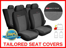 FORD FOCUS SEAT COVERS  Mk1  Mk2  ( 1998 - 2010 )  - FULL SET grey2 (55)