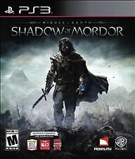Middle-earth: Shadow of Mordor 2014 PLAYSTATION 3 Game PS3 Complete vg