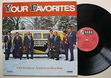LP Ambros Seelos - Your Favorites - mint- . Saba - Satisfaction Stones Cover