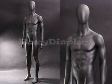 Fiberglass Male Mannequin Dress Form Clothing Egg Head Display #MZ-AE05