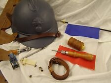 FRENCH 1915 & 1926 ADRIAN HELMET CHINSTRAP *** HISTORICALLY ACCURATE *****