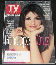 TV Guide October 2001-Penelope Cruz