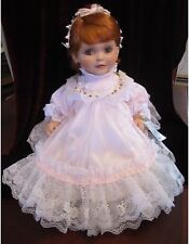 "Rustie ""Baby Cakes"" Porcelain Doll By Welden Museum With COA NIB 582/2000"