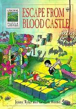Escape from Blood Castle (Usborne Puzzle Adventures) by Tyler, Jenny, Good Book