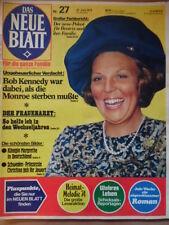 DAS NEUE BLATT 27-27.6. 1974 Beatrix Coburg Gustav Knuth Ratefuchs Guido Baumann