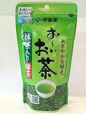 "100g Japanese green tea leaves ""Oi Ocha"" ITOEN  Matcha blend Japan F/S"