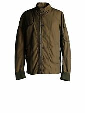 DIESEL BLACK GOLD JAPLAK MILITARY GREEN JACKET SIZE 48 (M) 100% AUTHENTIC