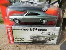 2016 AUTO WORLD 1:64 *PREMIUM 5A* Wilow Green 1966 Chevrolet Impala SS *NIP!*