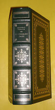 Chaucer's Canterbury Tales 1981 Franklin Library Leather/Gilt Limited Edition!