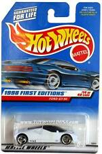 1998 Hot Wheels #668 First Edition #14 Ford gt-90 ( Malaysia base)