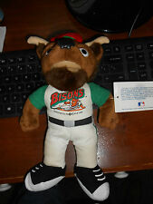VINTAGE 1999 BUFFALO BISONS MASCOT BUSTER BEANIE DOLL