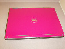 "SPECIAL!WINDOWS7 WEBCAM 15.4""WIDE HOT PINK D830 DUAL CORE1.8GHz,2GB,120G,DVD+RW"