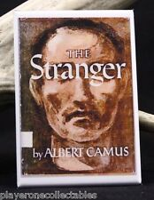 "The Stranger Book Cover - 2"" X 3"" Fridge / Locker Magnet. Albert Camus"