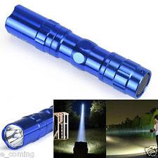 3W 2000LM Super Bright Cree LED lamp Clip Flashlight Focus Torch BU Taschenlampe