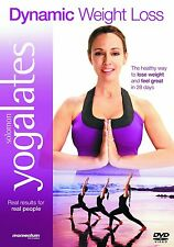 YOGALATES DYNAMIC WEIGHT LOSS DVD WORKOUT FITNESS YOGA PILATES