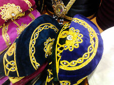 MUSLIM PRAYER CAP, FEZ with MIRROR, AUTHENTIC TURKISH FES,FOLKLORIC OTTOMAN HAT