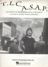 Alabama T.L.C. A.S.A.P.  US Sheet Music
