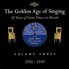 Golden Age of Singing 3: 1920-1930, New Music