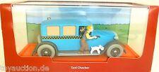 Taxi Checker en América Tim y Struppi en Amerique TinTin ATLAS 1:43 #HF7 µ