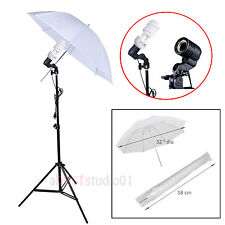 "Photography 33"" Photo Studio Soft Umbrella 225W Bulbs Continuous Lighting Kit"