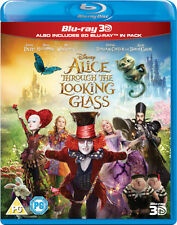 ALICE THROUGH THE LOOKING GLASS [Blu-ray 3D + Blu-ray] 2016 Disney Movie Part 2