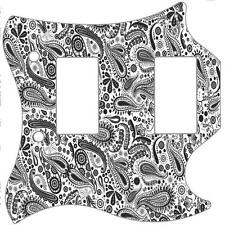 SG Standard Pickguard Custom Gibson Graphical Guitar Pick Guard Paisley WH-BK