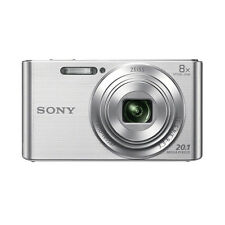 SONY CYBER-SHOT DSC-W830 20.1 MP DIGITAL CAMERA BUNDLE - SILVER