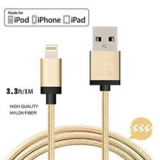 Oro cable cargador de datos para iphone 6 original/6+ Apple Certificado