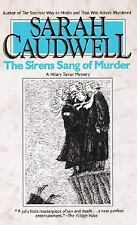 BUY 2 GET 1 FREE The Sirens Sang of Murder by Sarah L. Caudwell (1990,Paperback)