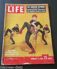 February 23, 1959 LIFE Magazine; Complete.  50s Old ads + FREE SHIPPING Feb. 2