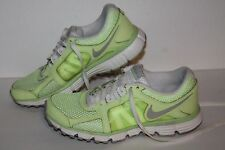 Nike Dual Fusion ST2 Breathe Running Shoes, #454240-300, Volt/Grey, Women's 8