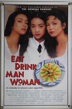EAT DRINK MAN WOMAN ROLLED ORIG 1SH MOVIE POSTER ANG LEE KUEI-MEI YANG (1994)