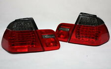 LED RÜCKLEUCHTEN HECKLEUCHTEN BMW E46 3er LIMOUSINE 01-05 ROT BLACK +LED BLINKER