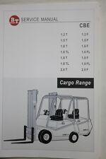 BT CBE 1.2 - 2.0 T / F élévateurs manuel de service gamme de cargaison