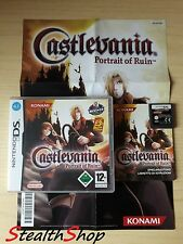 Castlevania Portrait of Ruin-Like New Condition-PAL Multilanguage Nintendo Ds