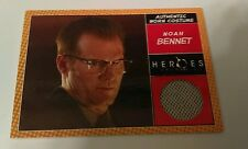 NBC Heroes 2  worn Relic costume card Noah Bennet