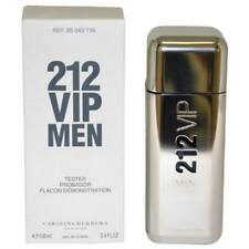 212 Vip by Carolina Herrera Cologne Men 3.4 oz Brand New Tester with Cap